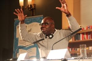Literaturkritiker und Essayist Boniface Mongo-Mboussa